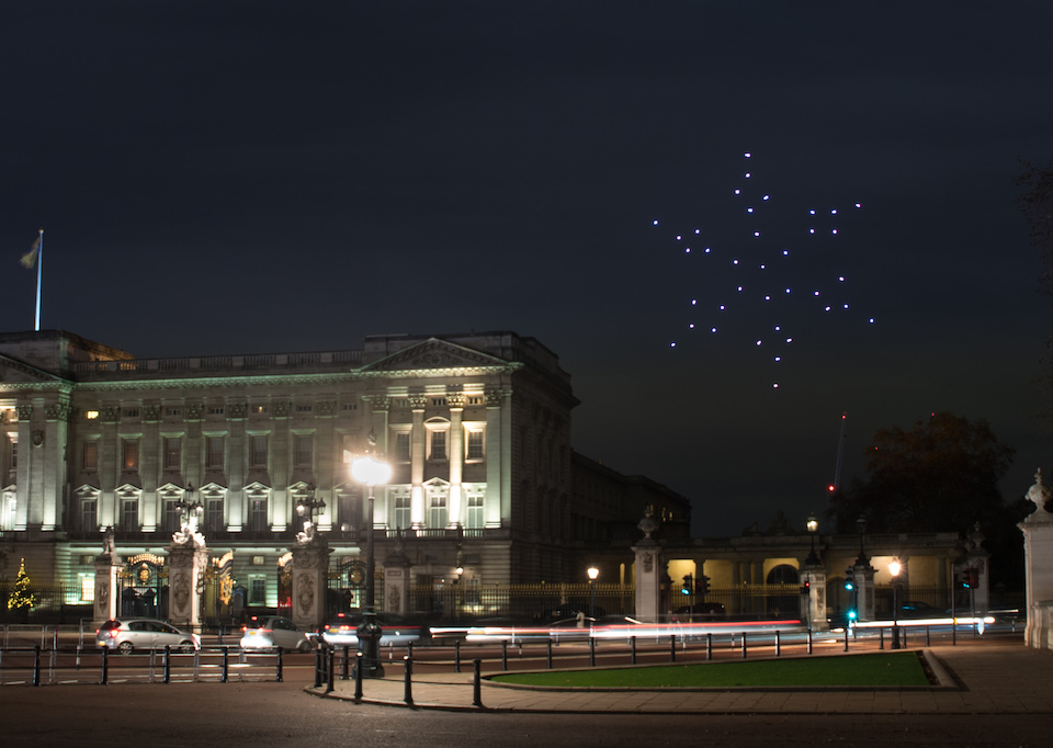 Drone Show for Pitch@Palace Global